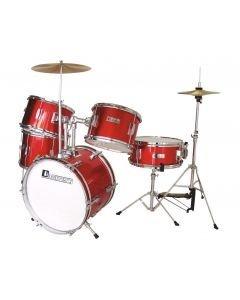 DIMAVERY JDS-305 Kids Drum Set, red