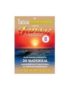 TATSIA Kotikaraoke Vol 15 Tanssi 8 - DVD levyllä
