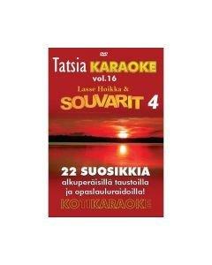 TATSIA Kotikaraoke Vol 16 Souvarit 4 - DVD karaoke