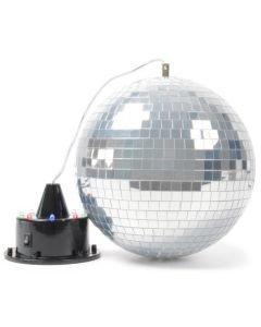 BEAMZ Hohtava peilipallo ja moottori LEDeillä