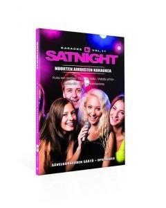 SATURDAYNIGHT Karaoke DVD vol 11 karaoke levyltä