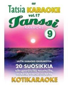 TATSIA Tatsia Kotikaraoke Vol 17 Tanssi 9 - DVD