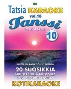 TATSIA Tatsia Kotikaraoke Vol 18 Tanssi 10 - DVD