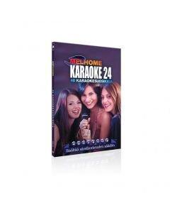 MELHOME Vol 24 karaoke DVD levyllä on 40