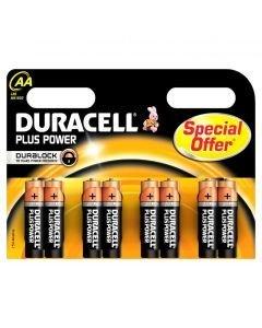 DURACELL AA Alkaali Paristo 8kpl Plus Batteries