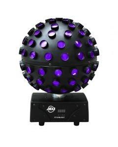 VUOKRAA Starburst - Upea LED peilipallo valoefekti 5x15W RGBWAUV värit