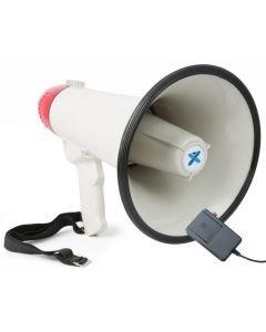 Vuokraa - MEG040 Kompakti ja kevyt megafoni 40W, jossa langallinen mikrofoni - paristokäyttöinen