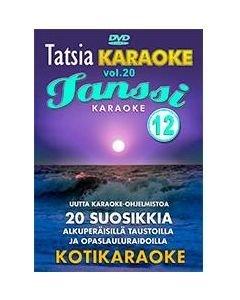 TATSIA Tatsia Kotikaraoke Vol 20 Tanssikaraoke 12