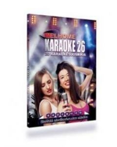 MELHOME Vol 26 karaoke DVD levyllä on 20