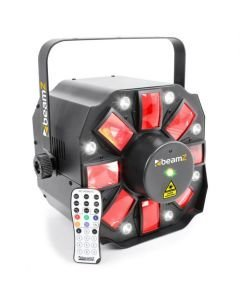 BEAMZ Multi Acis III LED Laser Strobo valoefekti