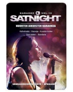 SATURDAYNIGHT Karaoke DVD vol 16 levyltä löydät