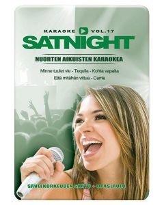 SATURDAYNIGHT Karaoke DVD vol 17 levyltä löydät