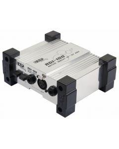 DAP-AUDIO ADI-100 aktiivinen DI-Boksi XLR uros ja