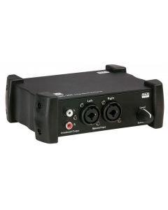 DAP-AUDIO ASC-202 stereo linja-muunnin muuntaa
