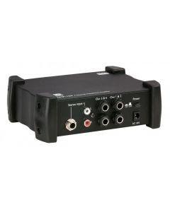 DAP-AUDIO AMP-104 kuulokevahvistin nelikanavainen