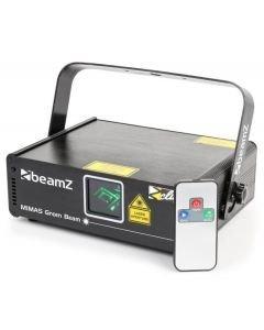BEAMZ Mimas 50mW vihreä laser DMX IRC Mimas laser