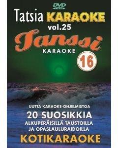 TATSIA Kotikaraoke Vol 25 Tanssikaraoke 15-DVD 01