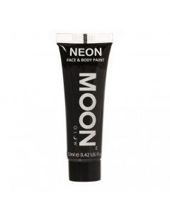 MOONGLOW MUSTA UV Neon kasvo sekä vartalomaali