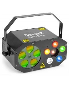 BEAMZ Sway Gobo valoefekti, Pitkä LEDien