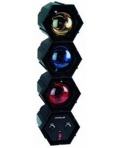 EUROLITE RFL-3 Valourku setti, kolme väriä