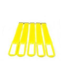 EUROLITE Kaapeliside 5kpl keltainen - Tie Straps 25x400mm 5 pieces yellow