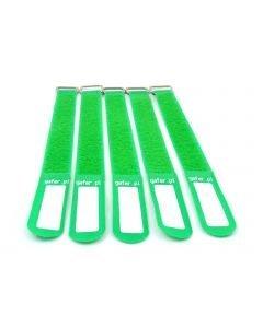 EUROLITE Kaapeliside 5kpl vihreä - Tie Straps 25x400mm 5 pieces green