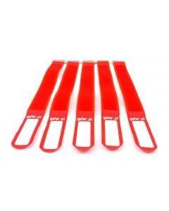 EUROLITE Kaapeliside 5kpl punainen - Tie Straps 25x400mm 5 pieces red