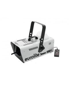 EUROLITE Snow 5001 pieni lumikone Kohtuullisen