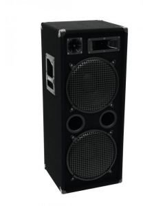 OMNITRONIC DX-2222 3-way Full-Range speaker 2x 12