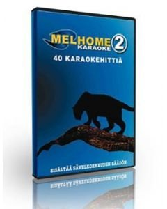MELHOME VOL 2 DVD karaoke levyllä on 40