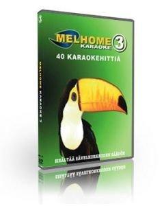 MELHOME VOL 3 DVD karaoke Levyllä 40 on