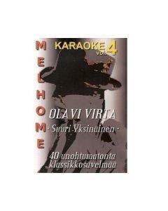 MELHOME VOL 4 DVD karaoke Olavi Virta levyltä