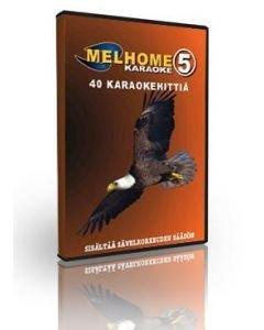 MELHOME Vol 5 KARAOKE DVD Levyllä on peräti 40
