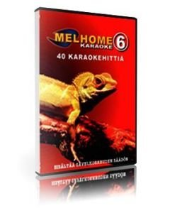 MELHOME VOL 6 DVD karaoke levyllä on peräti 40