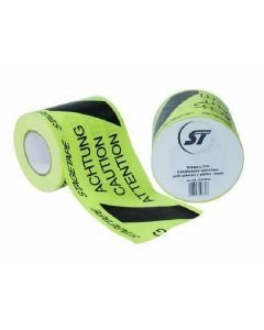 EUROLITE Stagetape Cabletape yellow/black 148 mm x