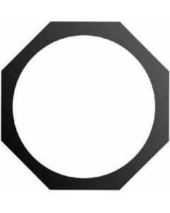 EUROLITE Octogonal filtre frame, PAR-64 Profi, alu