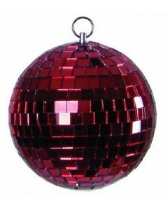 EUROLITE Red mirror ball 5 cm without motor