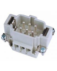 EUROLITE Plug insert 6-pole 16A, screw terminal