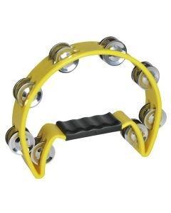 DIMAVERY TN-2 tamburiini keltainen muovinen
