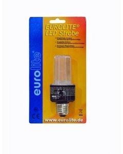 EUROLITE LED Strobe-lamppu kirkas E-27 kanta
