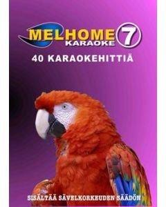 MELHOME Vol 7 KARAOKE DVD levyllä on 40