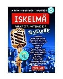 ISKELMÄKARAOKE Iskelmäkaraoke 8 DVD karaoke