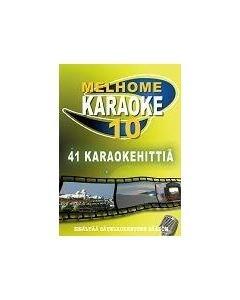 MELHOME Vol 10 KARAOKE DVD Levyllä kappaleet 1