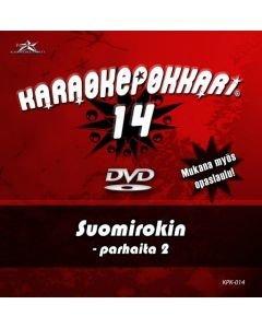 KARAOKEPOKKARI Vol 14 DVD Suomirokin Parhaita 2-