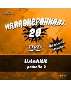 KARAOKEPOKKARI Vol 20 DVD Listahitit 2 Karaoke
