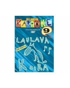 LAULAVAKOIRA Vol 10 Kotikaraoke DVD Levyllä