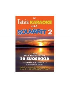 TATSIA Kotikaraoke Vol 5 - Souvarit 2 karaoke DVD