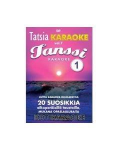TATSIA Kotikaraoke Vol 7 Tanssi 1-karaoke DVD