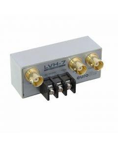 EUROLITE LVH-7 Manualinen videokytkin 1 tulo 2