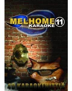 MELHOME Vol 11 KARAOKE DVD Levyllä on 40